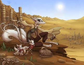 Desert Vista by Dreamkeepers