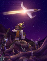 Commission #5: Beyond the Sky by Dreamkeepers