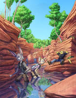 Commission14 - Summer Gorge by Dreamkeepers