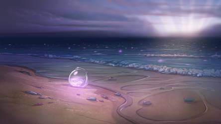 Beach Orb Desktop by Dreamkeepers
