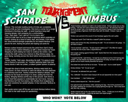 Tournament Match 22: Sam vs Nimbus by Dreamkeepers