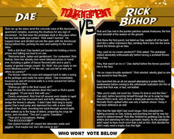 Tournament Match 35:  Dae vs Rick Bishop by Dreamkeepers