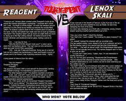 Tournament Match 36: Reagent vs Lenox Skali by Dreamkeepers