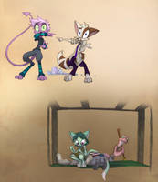 Patreon Sketch- Situation Switch by Dreamkeepers