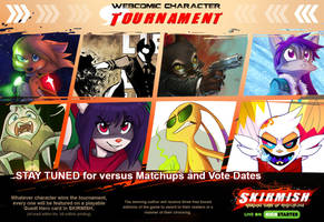Webcomic Character Tournament by Dreamkeepers