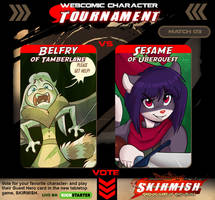 Webcomic Tournament Match 03 by Dreamkeepers