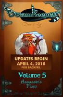 Volume 5 Online Release Date by Dreamkeepers