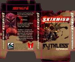 Skirmish Ruthless Expansion Box Art by Dreamkeepers