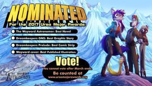 Final Days:  Vote Wayward! by Dreamkeepers