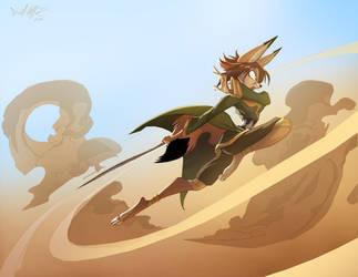Desert Fox by Dreamkeepers