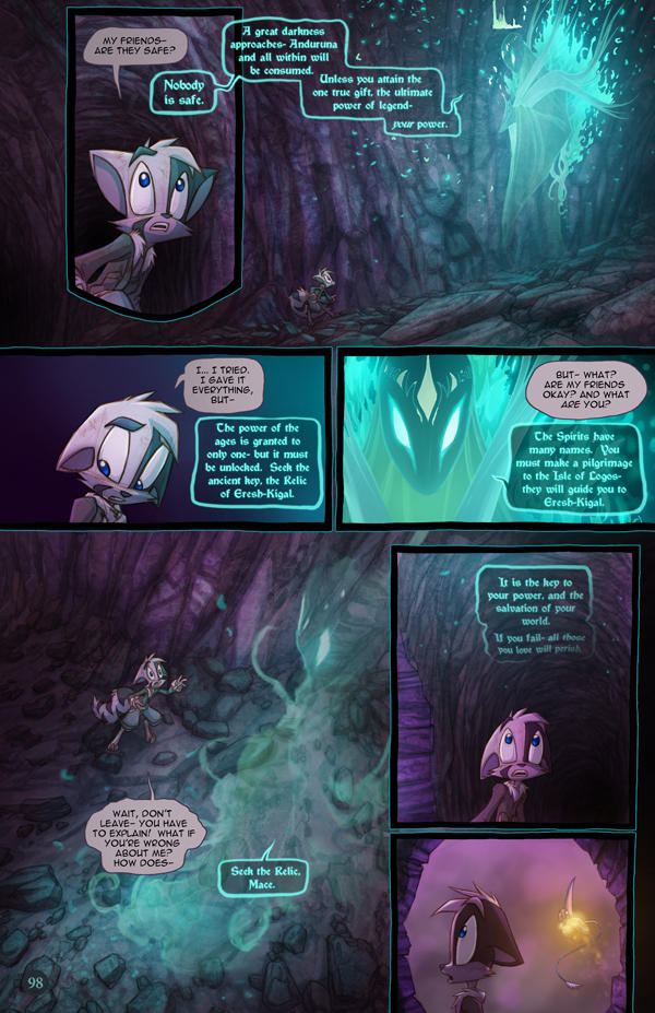 Dreamkeepers Saga page 416 by Dreamkeepers