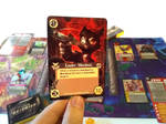 Lackadaisy Skirmish Card by Dreamkeepers