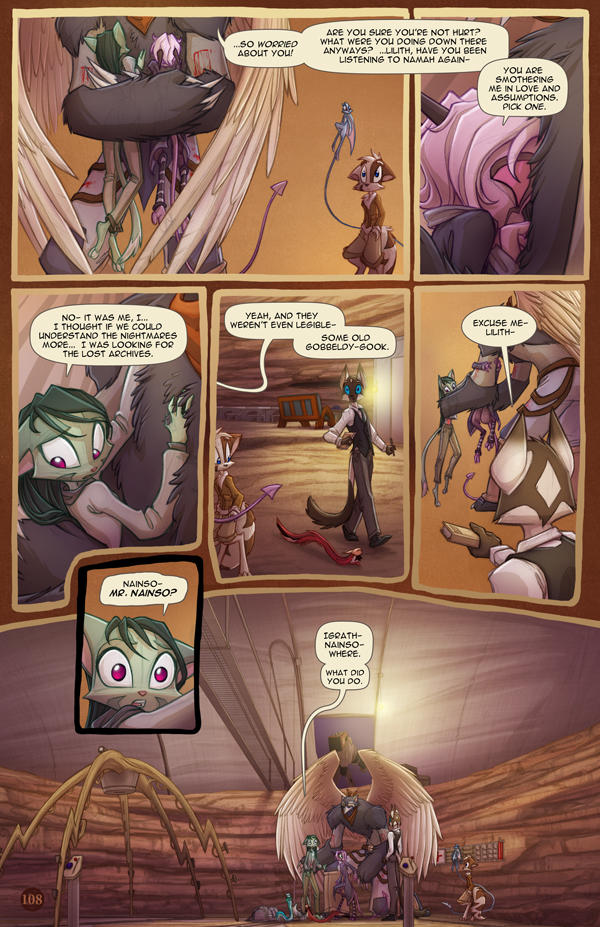 Dreamkeepers Saga page 426 by Dreamkeepers