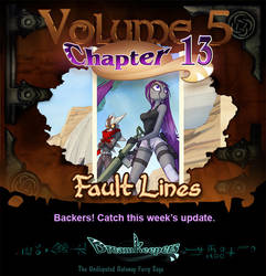Volume 5 page 36 Update Announcement by Dreamkeepers