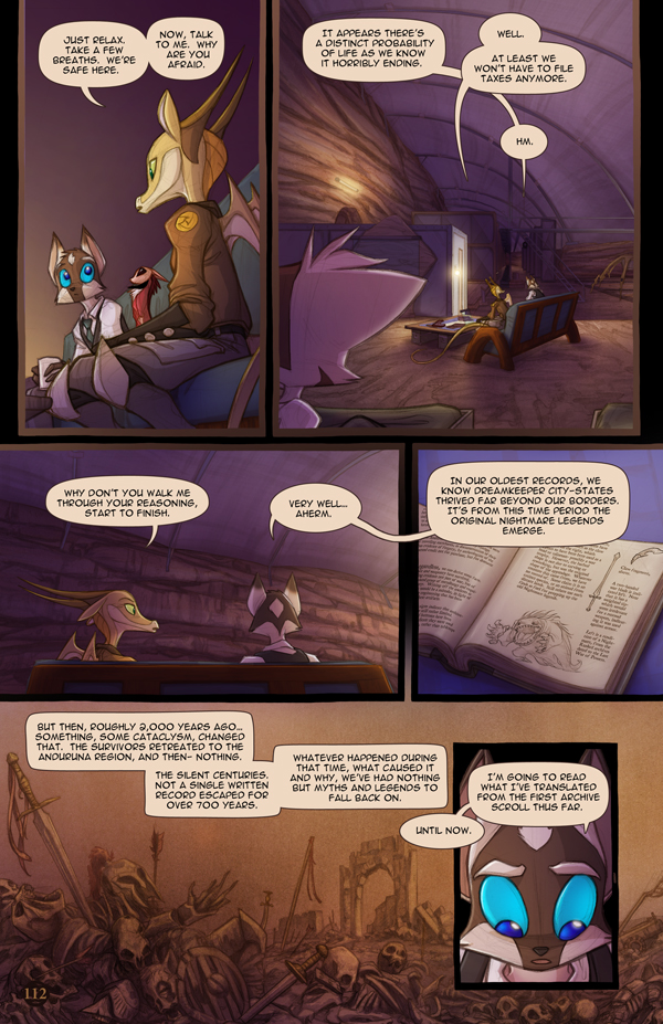 Dreamkeepers Saga page 430 by Dreamkeepers