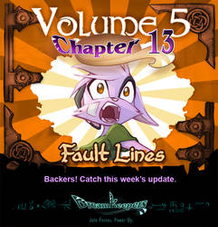 Volume 5 page 51 Update Announcement by Dreamkeepers