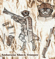 Anduruna Shock Trooper Concept by Dreamkeepers