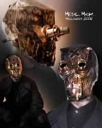 Metal Mask - Halloween 2006 by Dreamkeepers