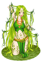 green amazon by phoenix1784