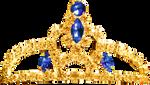 Princess Tiara - Sapphire by Dori-Stock