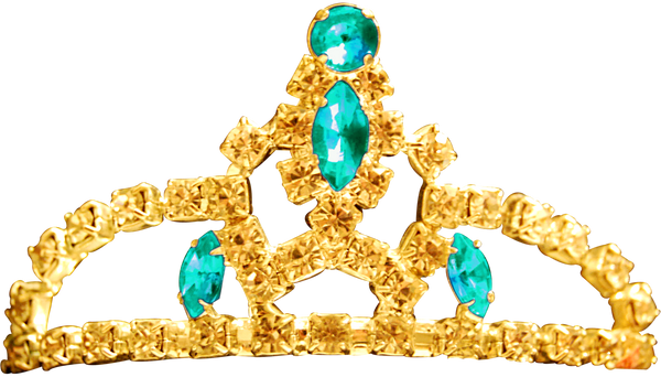 Princess Tiara - Aquamarine by Dori-Stock
