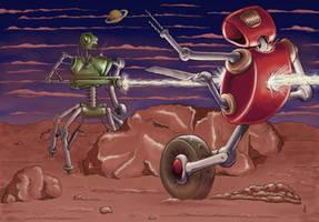 Robot War by epzilon