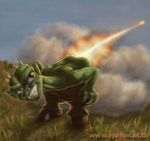 Goblin Firebutt by epzilon