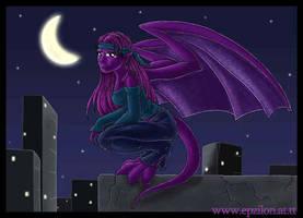 The Last Purple Gargoyle by epzilon