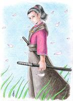 Sakura no Samurai by epzilon