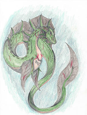 Master Chief as a Dragon (ArtTrade) Part 1 of 2 by DarkRedTigr