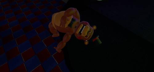 Toy Freddy's Dead by DarkRedTigr