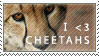 Cheetah Stamp by ShatteredApocalypse
