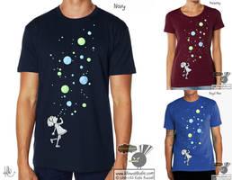 Bubbles T-Shirt by KilowattKatie