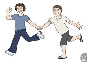 Happy Couple by KilowattKatie
