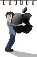 Apple Love by KilowattKatie