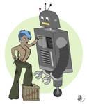 Pin-Up Mechanic by KilowattKatie