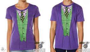 Why So Serious? Joker T-Shirt by KilowattKatie