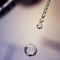 Purple Drops by iMargreet