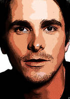 Christian Bale Pop Art I by VeranMovil