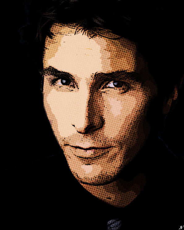 Christian Bale Pop Art II by VeranMovil