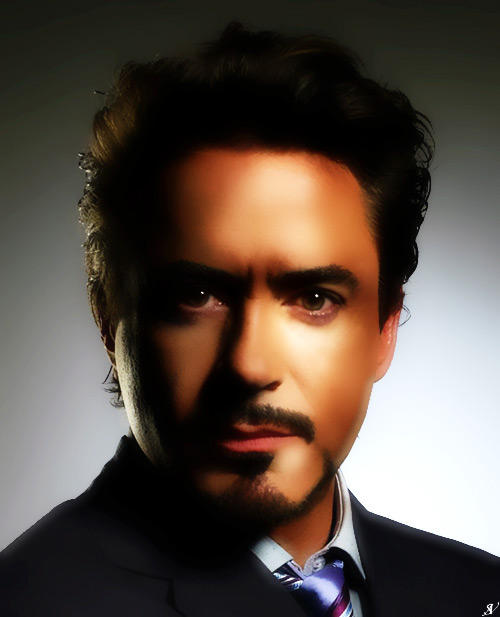 Tony Stark Portrait by VeranMovil