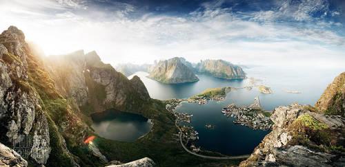 Reine panorama2 by Philipp88