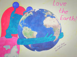 Zenula says ''Love the Earth!'' by Mr-Pink-Rose