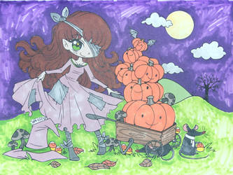 Who likes Jack O'lanterns? by Mr-Pink-Rose
