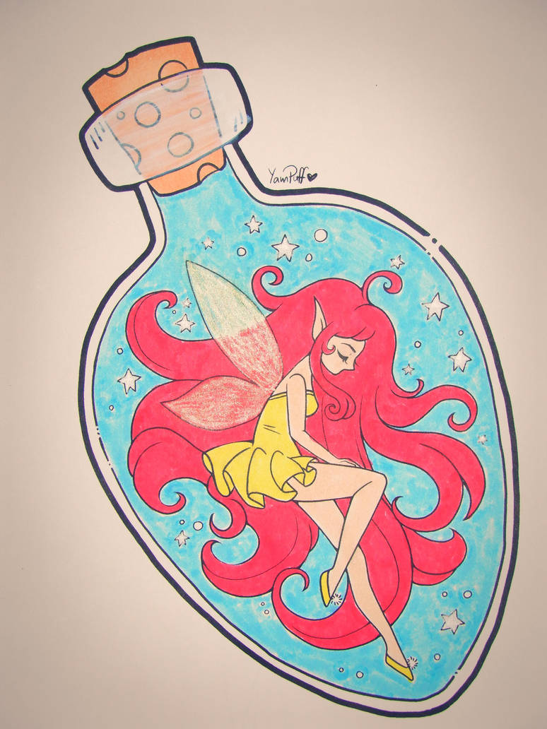 Fairy In A Bottle by Mr-Pink-Rose