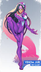 Juri x Venom by Red-Gambit