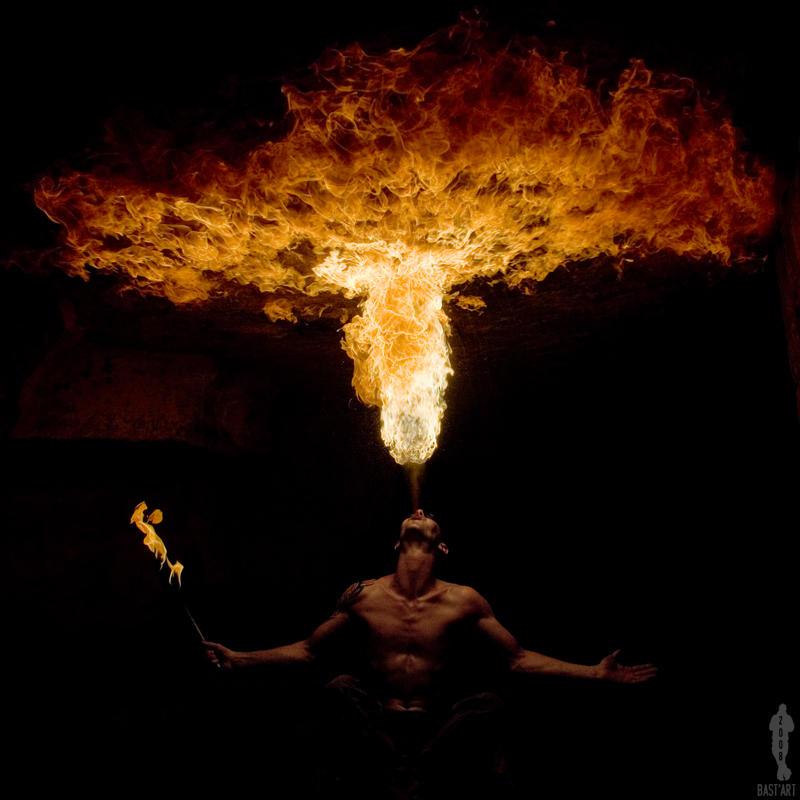 Burn the sky by bast-86