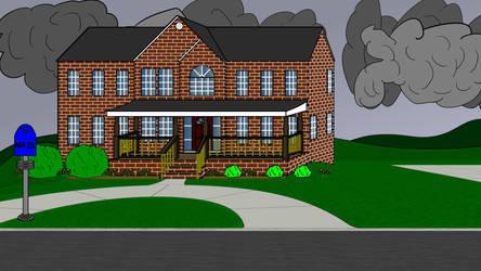 Super-Neighbor's House by ArtsInSladeVision