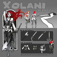 Meet Xolani of Sin City by disj0inted