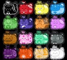 Catbean Batch 3 - Set Price [CLOSED] by HopefulAdopts
